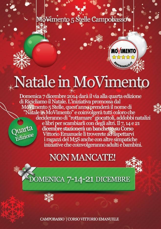 Locandina Natale in Movimento